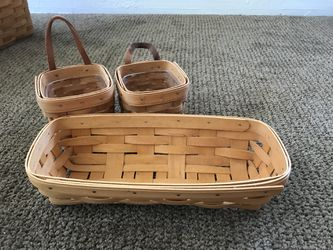 Longaberger Baskets from 1996,2000 and 2008 for Sale in Riverside,  CA