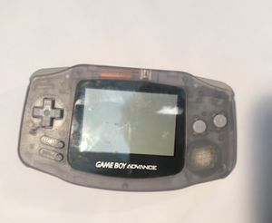 GameBoy Advance Glacier Clear AGB-001 With Multi Player Link Cord Fully Working for Sale in Chicago, IL