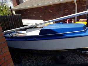 Sailboat, 16 ft Luger Leeward 1200 OBO Or trade toward mini s project for Sale in Morrison, CO