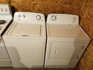 Amana washer & electric dryer set for Sale in Houston, TX