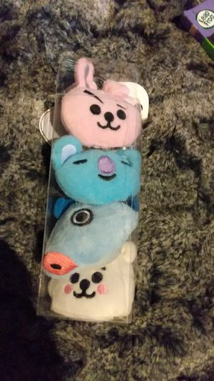 BTS keychain set,toy, keychain, stuffed animal,plush for Sale in Los Angeles, CA