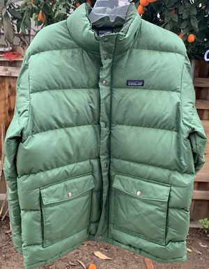 Patagonia down jacket size large for Sale in Loma Linda, CA