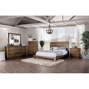 4pc Queen Bedroom Set- Recamara Queen de 4pc @Elegant Furniture for Sale in Fresno, CA