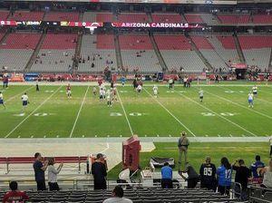 2 Arizona Cardinals 32 Yard line tickets Section 128 row 19 for Sale in Phoenix, AZ
