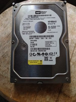 Western Digital 160GB SATA Desktop Hard Drive / Like New for Sale in Fullerton, CA
