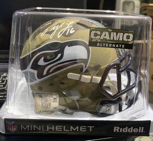 Tyler Lockett Signed Seahawks Mini Helmet for Sale in SeaTac, WA