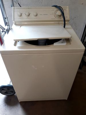 Whirlpool washer bisque for Sale in West Palm Beach, FL