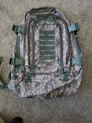 Military Tactical Waterproof Backpack with Water Bag for Sale in Tacoma, WA