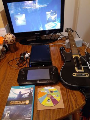 Nintendo wii u full system with games for Sale in Indianapolis, IN