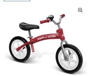 Radio flyer balance bike bicycle red for Sale in Arlington, TX
