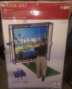 Arcade golf electronic simulator for Sale in Saint Paul, MN