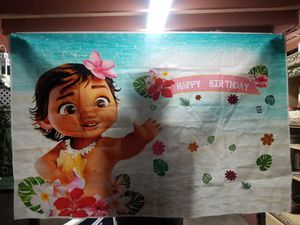 Moana party supplies for Sale in Ontario, CA