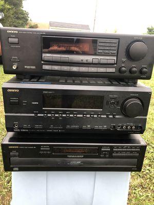 onkyo stereo equipment for Sale in Manassas, VA