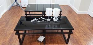 Ashley Coffee table set w/free lamps for Sale in West Springfield, VA