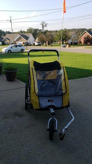 Double baby bike trailer stroller for Sale in Smyrna, TN