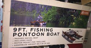 9ft fishing pontoon boat for Sale in San Antonio, TX