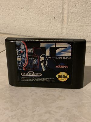 T2: Arcade Game Terminator 2 Sega Genesis Tested for Sale in Euclid, OH