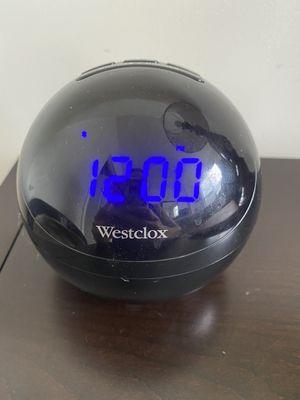 Westclox clock radio for Sale in Rutherford, NJ