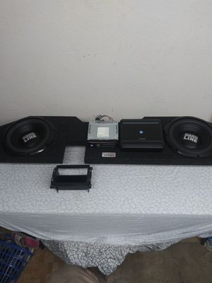 Complete Alpine Stereo / Radio system with dash kit for Sale in Artesia, CA