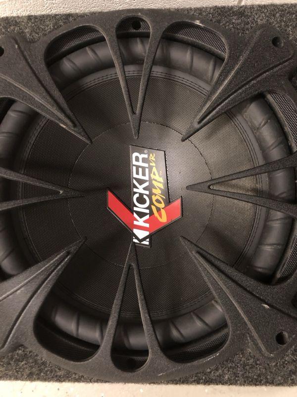 12 inch kicker + kenwood amp sale or trade a cambio o venta.. now..