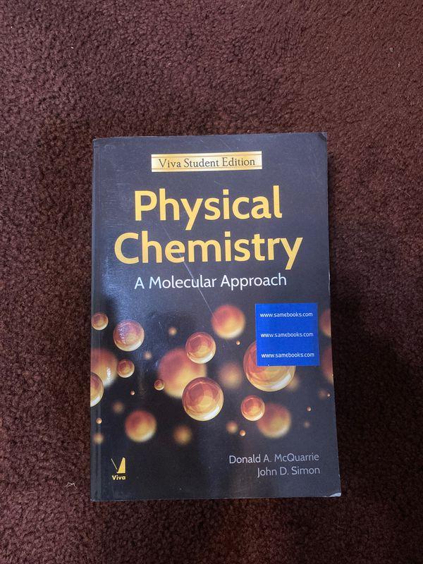 Physical Chemistry - A Molecular Approach