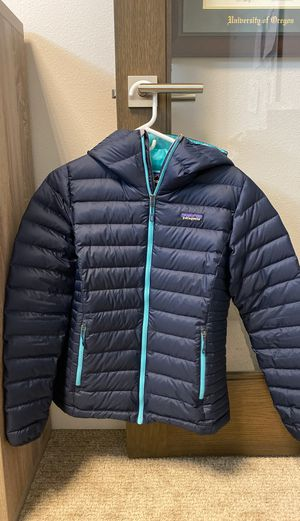 Patagonia Women's Down Sweater Hoodie Size S Small for Sale in Happy Valley, OR