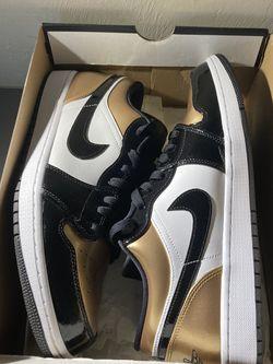 Jordan 1 Low gold Toe Size 12 for Sale in Edmond,  OK