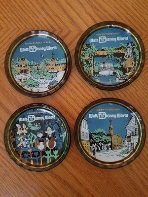 4 Disney glass coasters for Sale in PT CHARLOTTE, FL