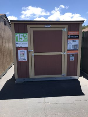 Tuffshed Sundance series 4x8 Lean-To display for Sale in San Diego, CA