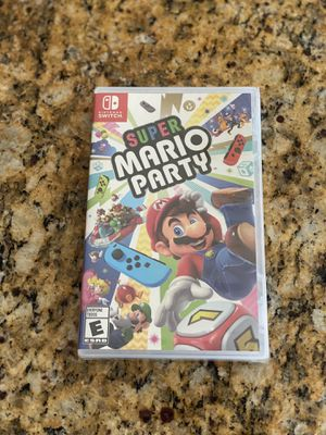 Brand New Sealed - Nintendo Switch game - Super Mario Party for Sale in Temecula, CA