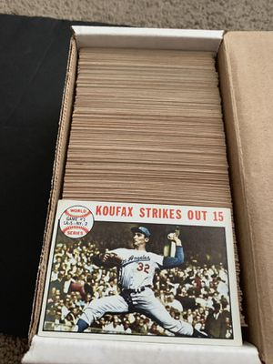 1964 Topps Baseball Card Set of 321 Different Cards Nice for Sale in Placentia, CA