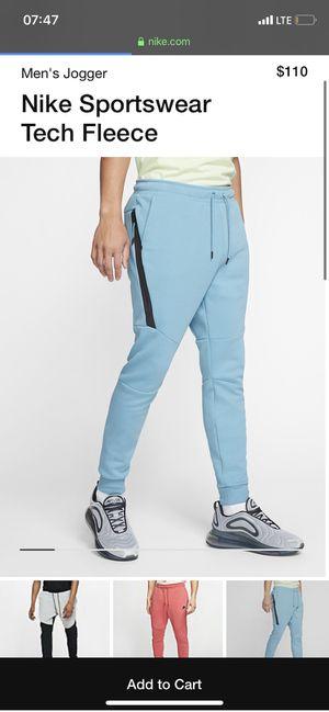 Blue Tech Fleece Pants for Sale in Arlington, VA