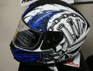 Motorcycle helmet new dual visor $59 All Rider Gear for Sale in San Diego, CA