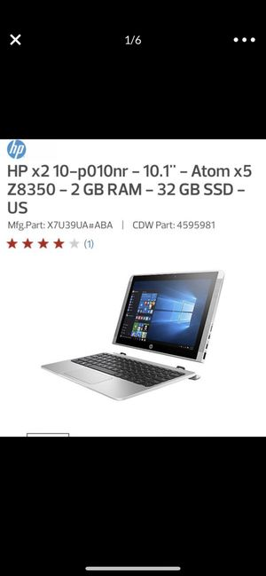 "HP X2 10.1"" Laptop for Sale in Hialeah, FL"