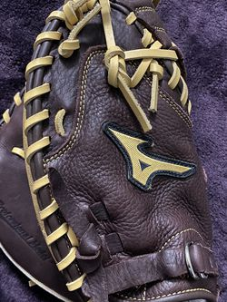 Left-Handed Throw Mizuno Franchise Baseball Catcher's Mitt for Sale in Hacienda Heights,  CA