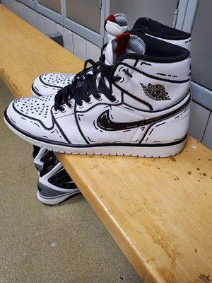 """""""Comic book"""" Nike Air Jordan 1 Custom size 13 for Sale in Amelia, OH"""