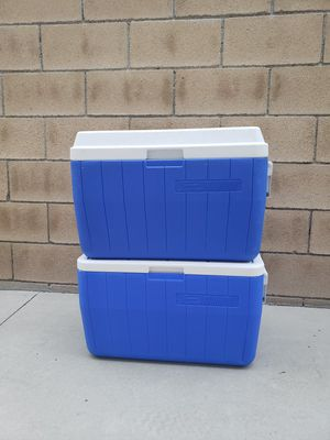 Brand new coleman 48 qt coolers for Sale in Rancho Cucamonga, CA