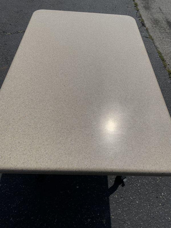 Comercial indoor outdoor table/desk