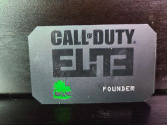 Call Of Duty Elite Founder Card - Metal for Sale in Scottsdale,  AZ