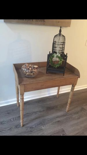 Antique pine table/desk/nightstand/foyer table for Sale in Smyrna, GA