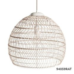 Kenroy Home Maverick 1-Light Rattan Pendant Lamp, Natura for Sale in Dallas,  TX