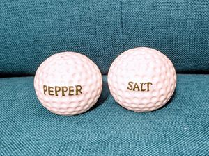 Golf ball salt and pepper shakers for Sale in Austin, TX
