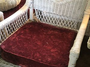 Antique wicker furniture set basically brand new. Always been packed in a back room of the house I grew up in. for Sale in Tampa, FL