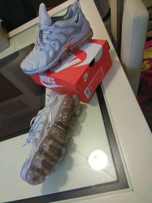 Grey Nike Air VaporMax Plus for Sale in Detroit, MI