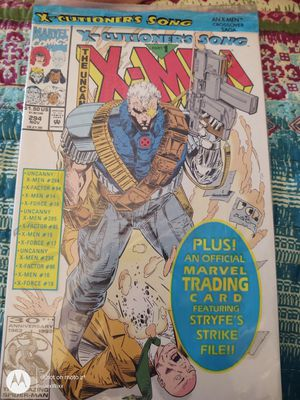X-Cutioner's Song The Uncanny X-Men No 294 Trading Card for Sale in Walbridge, OH