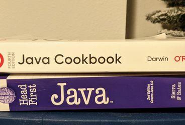 2 Java Programming Books for Sale in Littleton,  CO