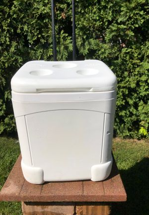 Large igloo cooler chest on wheels for Sale in York, PA