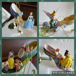 Bradford Exchange Disney Characters Shoe Ornament Collection-New In Box for Sale in Beaverton, OR