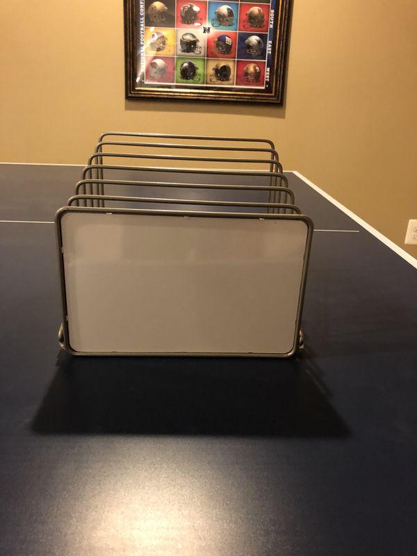 Folder/paper divider for school supplies (+ whiteboard on bottom)