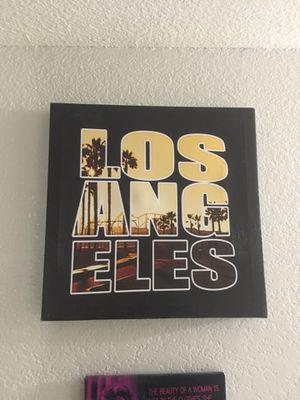 Los Angeles Photo Canvas print for Sale in Phoenix, AZ